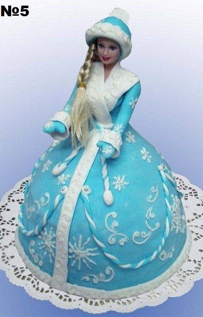 Торт снегурочка фото