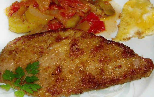 Салат сухарики сыр курица