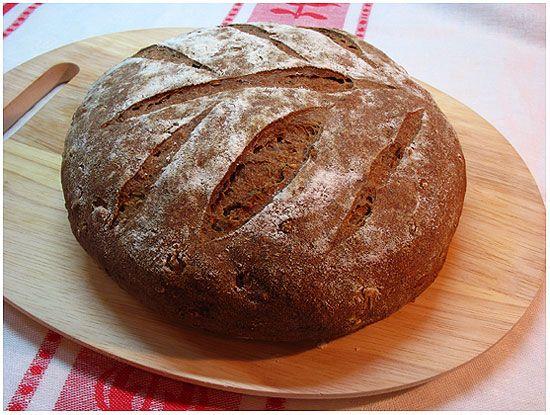 Хлеб в домашних условиях в духовке из ржаной муки рецепт пошагово