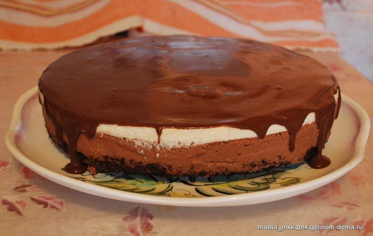 Торт сливочный с фото