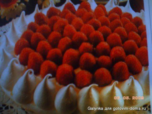 Торт безе с малиной рецепты и