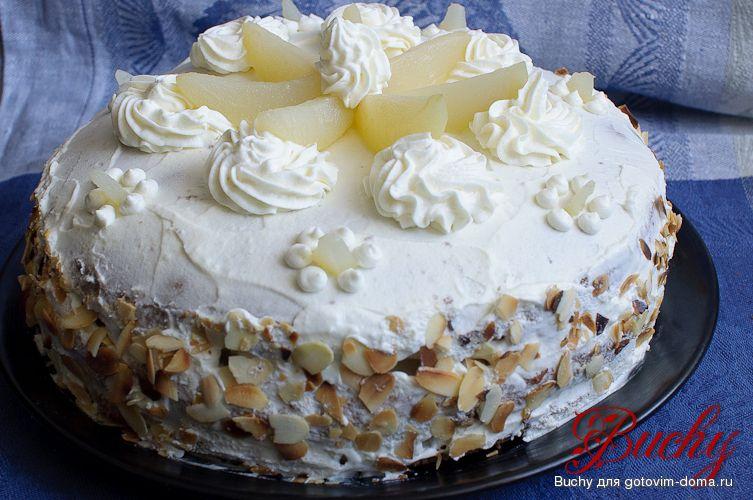 Рецепт торта из сливок