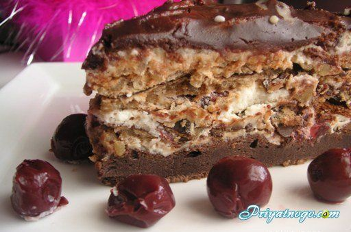 Торт рецепт шоколадный с орехами