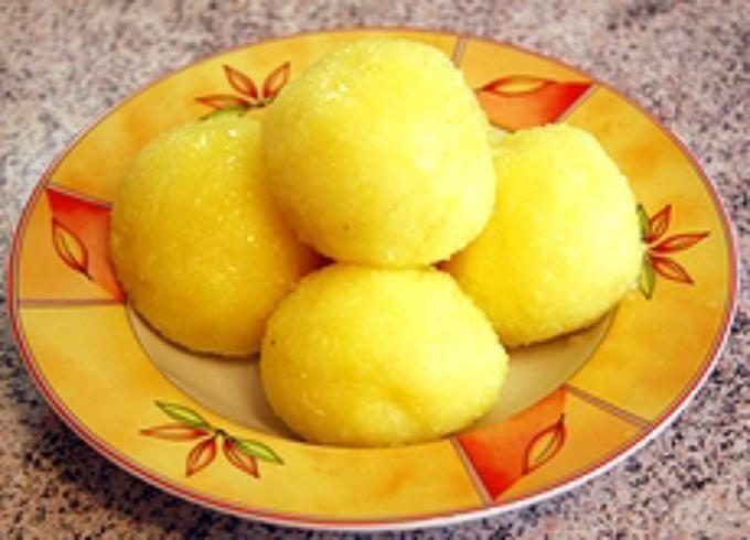 Рецепт клёцок из картофеля с фаршем