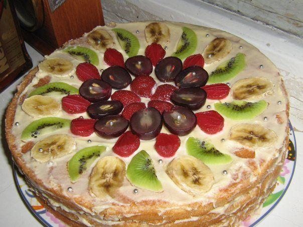 Рецепты тортов из готовых коржей в домашних условиях пошагово