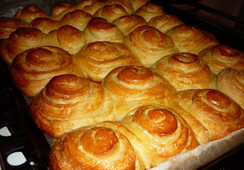 сдобные сладкие воздушные булочки пошаговый рецепт с фото
