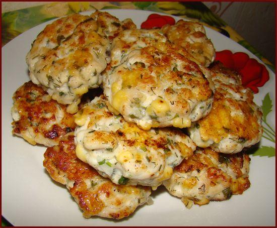 Биточки из курицы с сыром рецепт