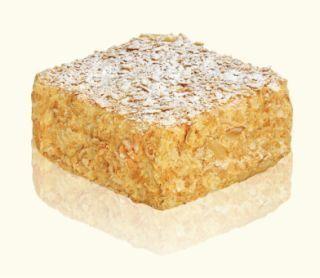 Торт из слоеных коржей крем