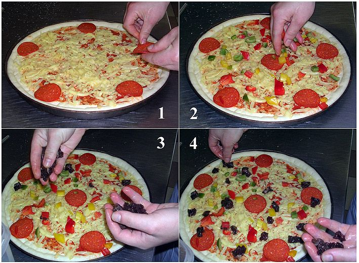 Как и какую пиццу сделать 994