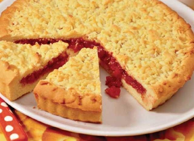 Тертый пирог с вареньем рецепты с