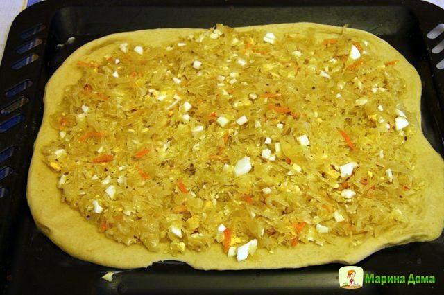 Пирожки квашеной капусты рецепт фото