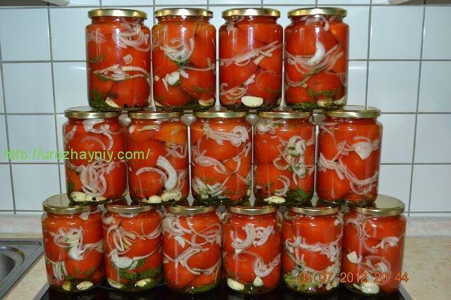 Резаные помидоры на зиму без стерилизации простой рецепт — photo 9