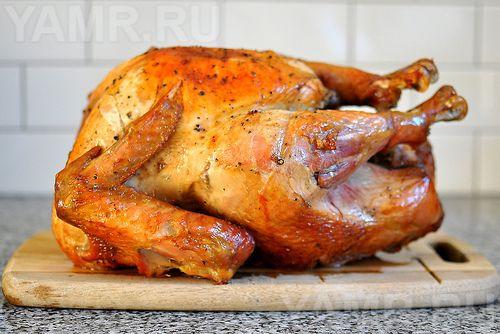 Как сделать курицу в духовке с золотистой корочкой