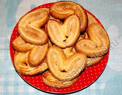 Печенья из творога треугольники рецепт с пошагово