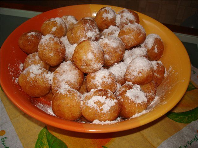 Как приготовить пончики из сгущенки рецепт