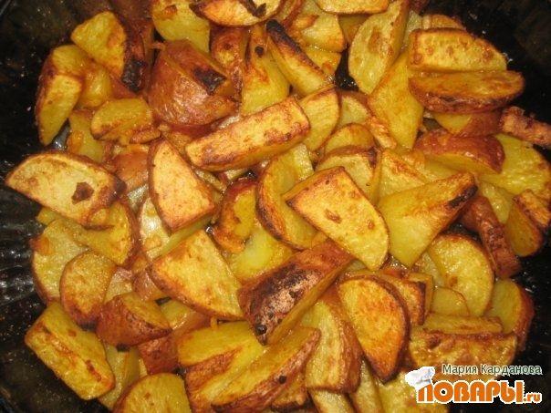 Картошка по деревенски мультиваркеы