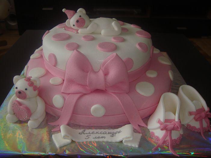 Торт из мастики для девочки своими руками рецепт с