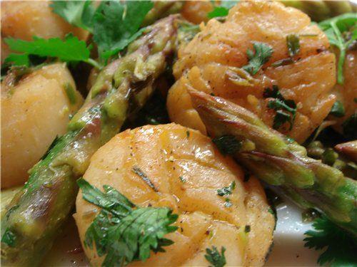 Лучшие рецепты из морских гребешков