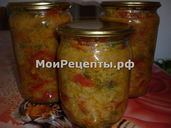 Рецепт на зиму солянки