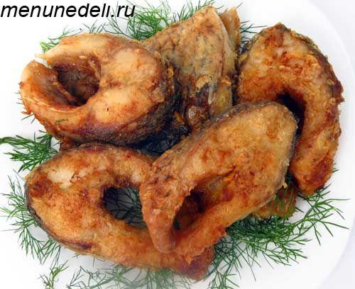 Жаренная рыба рецепты