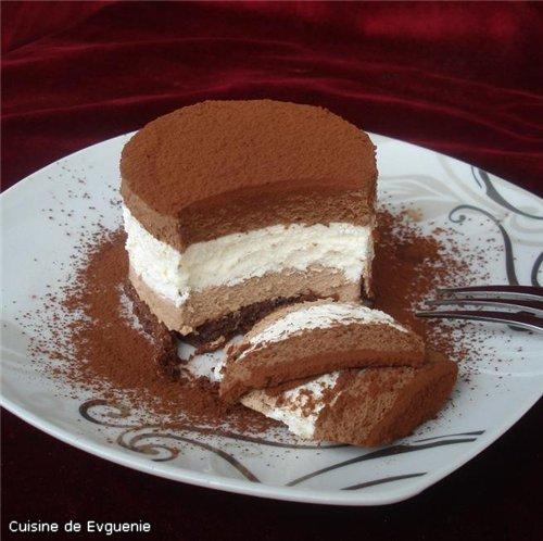 Торт с шоколадным муссом рецепт