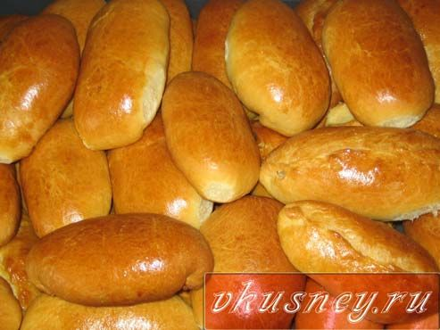 Рецепт пирогов в духовке с картошкой