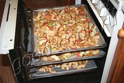 Как сделать яблочную сушку в духовке
