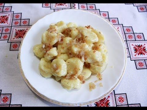 Ленивые картофельные вареники рецепт с фото